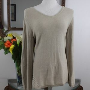 Style & Co High-Low Knitted Sweater/Shirt